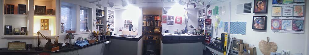Panorama of Artist's Studio